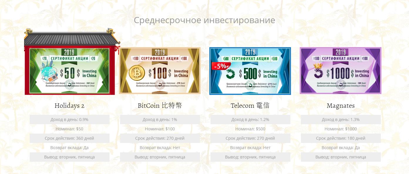 """""""Среднесрочное инвестирование"""""""