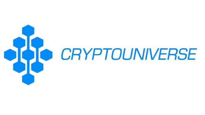 Логотип сайта cryptouniverse.io
