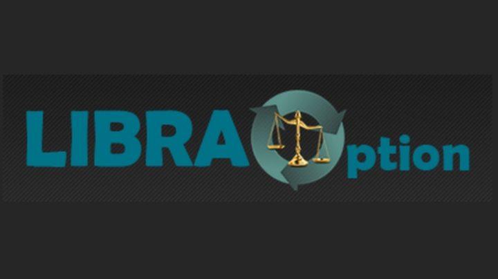 Логотип сайта libraoption.com