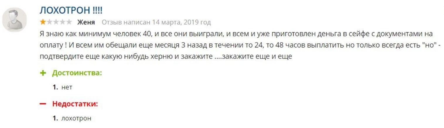 Отзывы о prizeme.com.ua