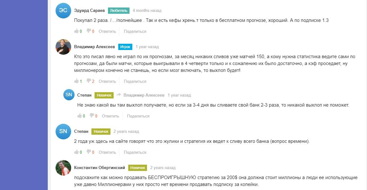 Отзывы о Betbol.ru