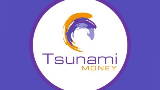 Логотип Tsunami money
