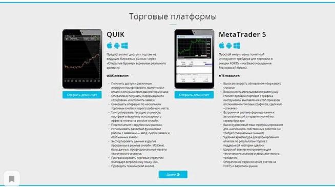 Торговые платформы