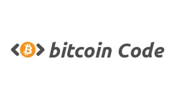 Логотип Bitcoin Code