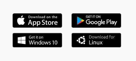 Платформы, на которых работает приложение