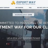 Логотип Export Way Limited