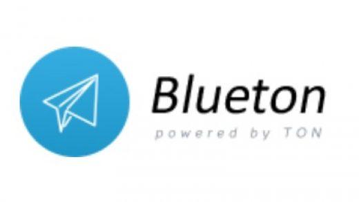 Логотип Blueton