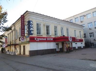 Здание, в котором якобы располагается компания