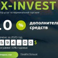 Главная страница сайта FX-Invest.com