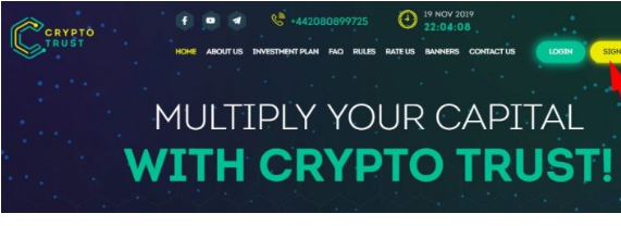 крипто траст официальный сайт