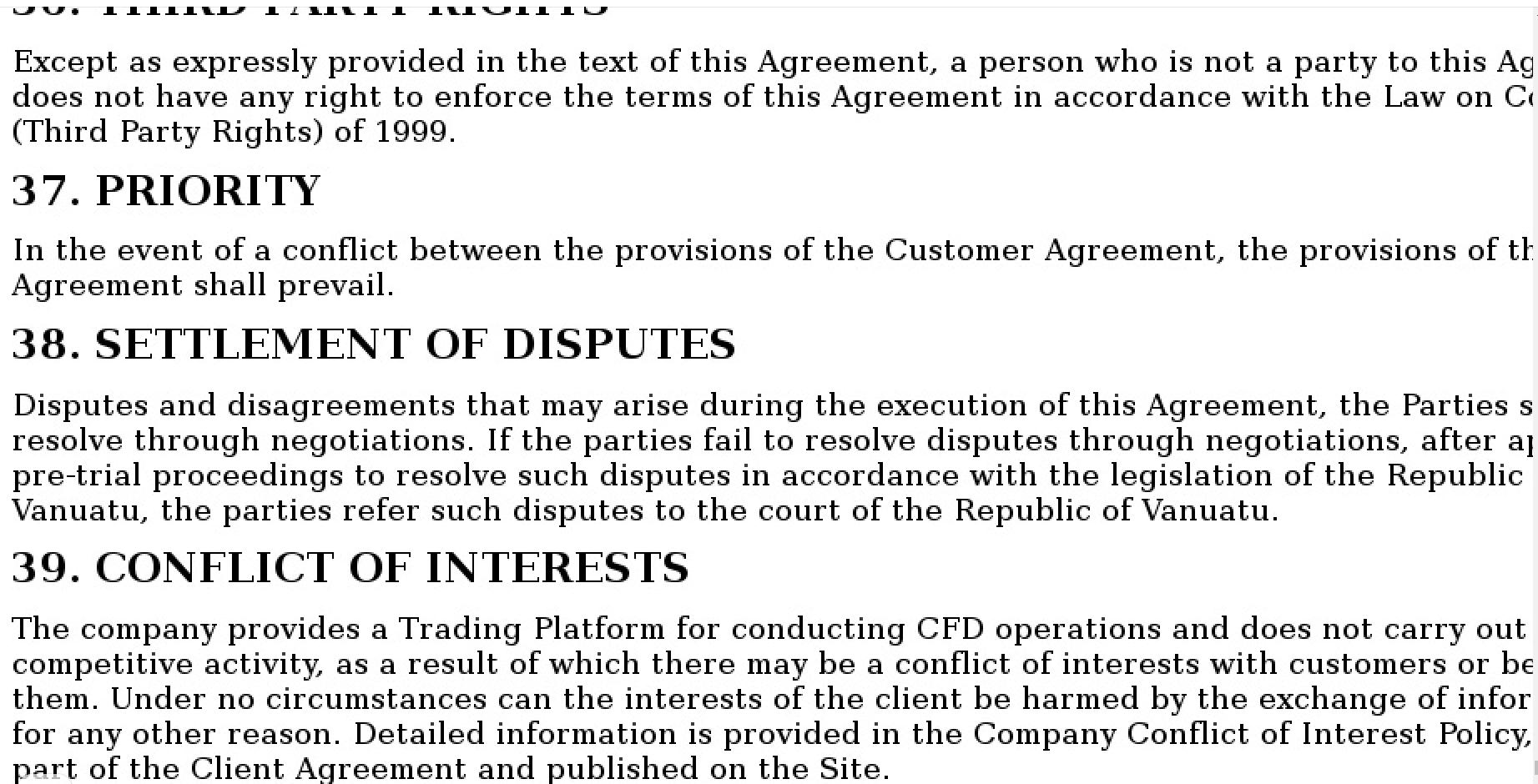 Пользовательское соглашение ctrust