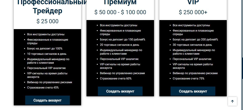 Счета для продвинутых пользователей
