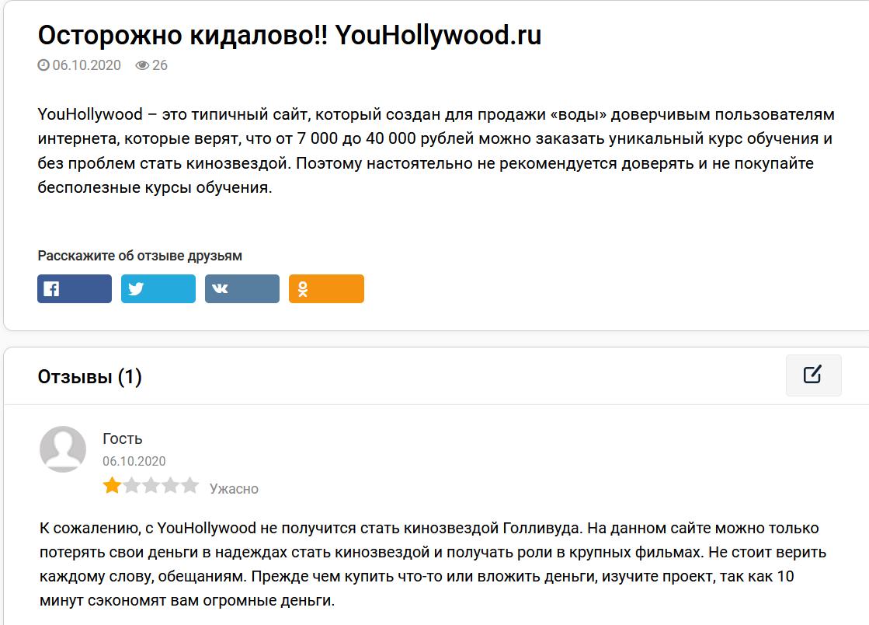 Мнение пользователей о проекте