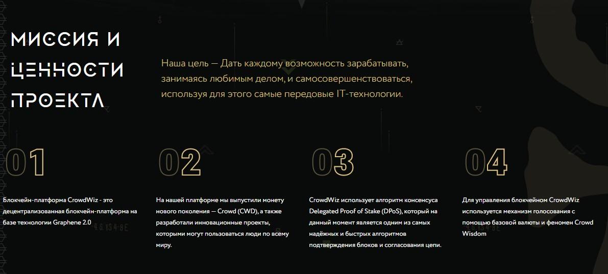 Цель проекта CrowdWiz