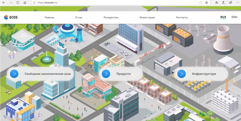 Официальный сайт Ecos – ecos.am