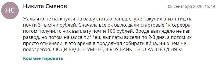 Отзывы об игре Birds Bank