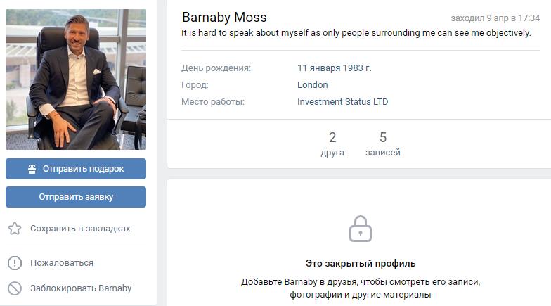 Barnaby Moss