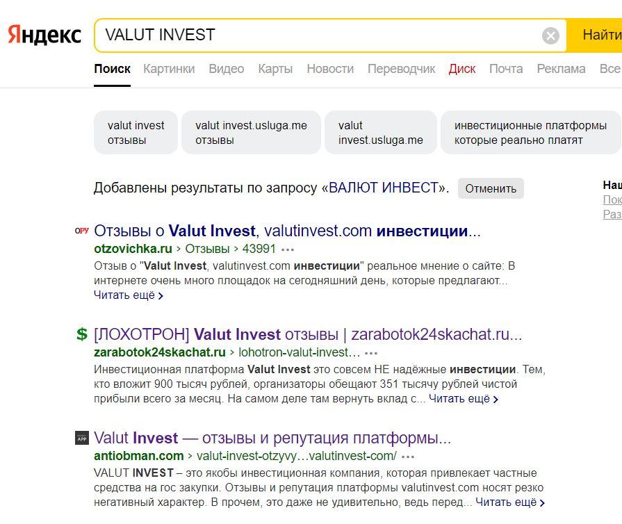 Обзоры «Валют Инвест»