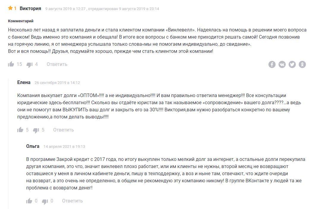 отзывы о программах WinLevel