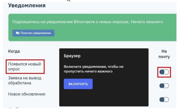 Уведомления в YouThink